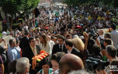 Diada 2011 a Sant Boi en imatges