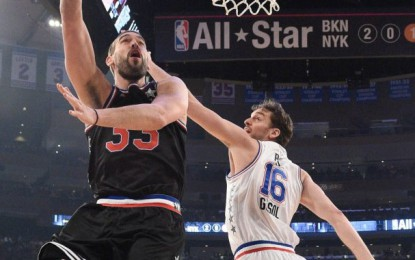 Els germans Gasol triomfen a l'All Star 2015