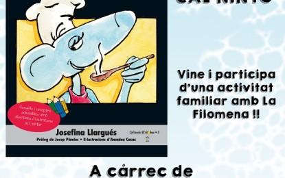 Presentació del llibre 'La Filomena els fogons remena'