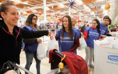 El Gran Recapte aconsegueix 51.300 quilos d'aliments a Sant Boi