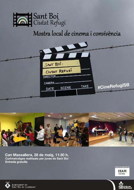 I Mostra Local de Cinema i Convivència Sant Boi 2016