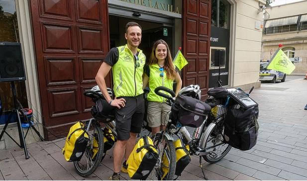 Vivir en ruta - Blanca Hernández i Óscar Tamayo - Sant Boi