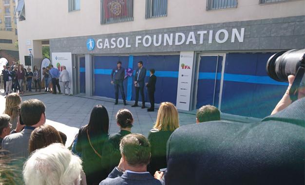 Inauguració de la nova seu de la Gasol Foundation