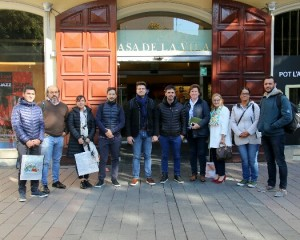 Sant Boi rep una delegació de ciutats argentines participants a la fira Smart City Expo World Congress