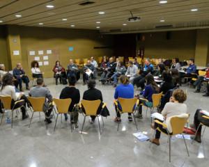 Mediació per definir el futur de la plaça Montserrat Roig