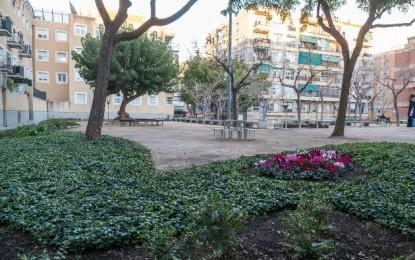 Inaugurada la remodelació de la plaça dels Focs de Sant Joan