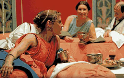 Ludi Rubricati 2018: el banquet a Roma