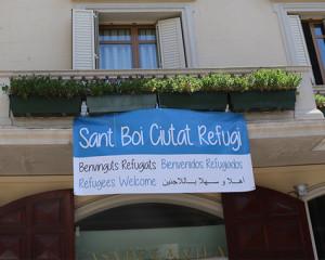 Sant Boi de Llobregat se suma a la crida per facilitar l'acollida de les persones refugiades de l'Aquarius