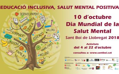 Activitats per al Dia Mundial de la Salut Mental