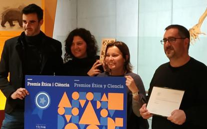 Premi Ètica i Ciència per a l'Institut Rafael Casanova