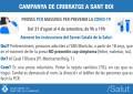Campanya de cribratges amb proves PCR a Sant Boi