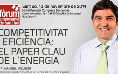 Fòrum empresarial de Sant Boi sobre l'energia