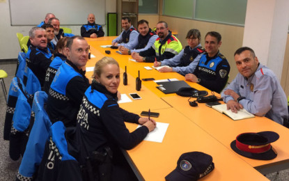 Nou canal de col·laboració entre Policia Local i Mossos d'Esquadra