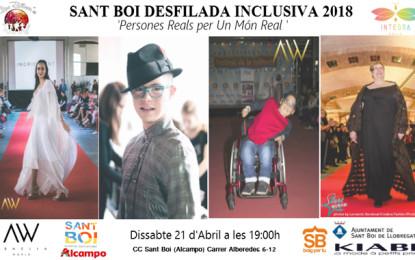 Desfilada inclusiva al Centre Comercial Sant Boi