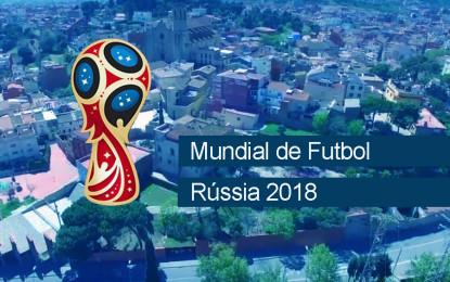Vídeo de suport a Nizhny Novgorod, ciutat agermanada amb Sant Boi i seu del Mundial de Futbol 2018