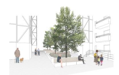 El barri Ciutat Cooperativa i Molí Nou millora el seu espai públic