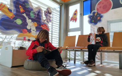 Racons de lectura infantil als centres d'atenció primària